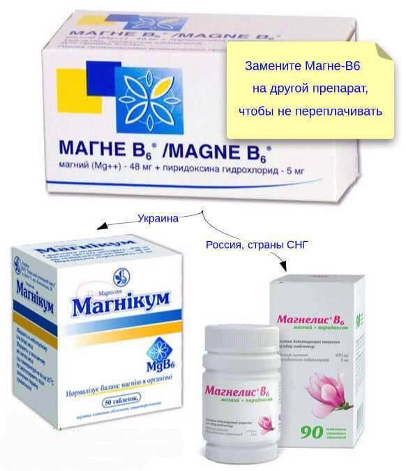 Сравниваем магнерот или магне в6 — что лучше? что лучше по мнению врачей: магнелис в6, магне в6 или магний б6, в чем разница между этими препаратами