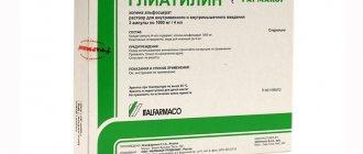 Глиатилин капельно | медик03