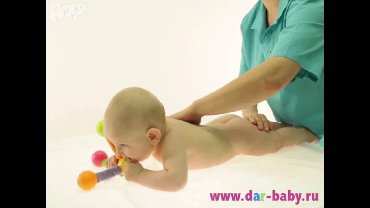 Гимнастика для детей до 1 года, ежедневный массаж ребенку 9-12 месяцев (видео)