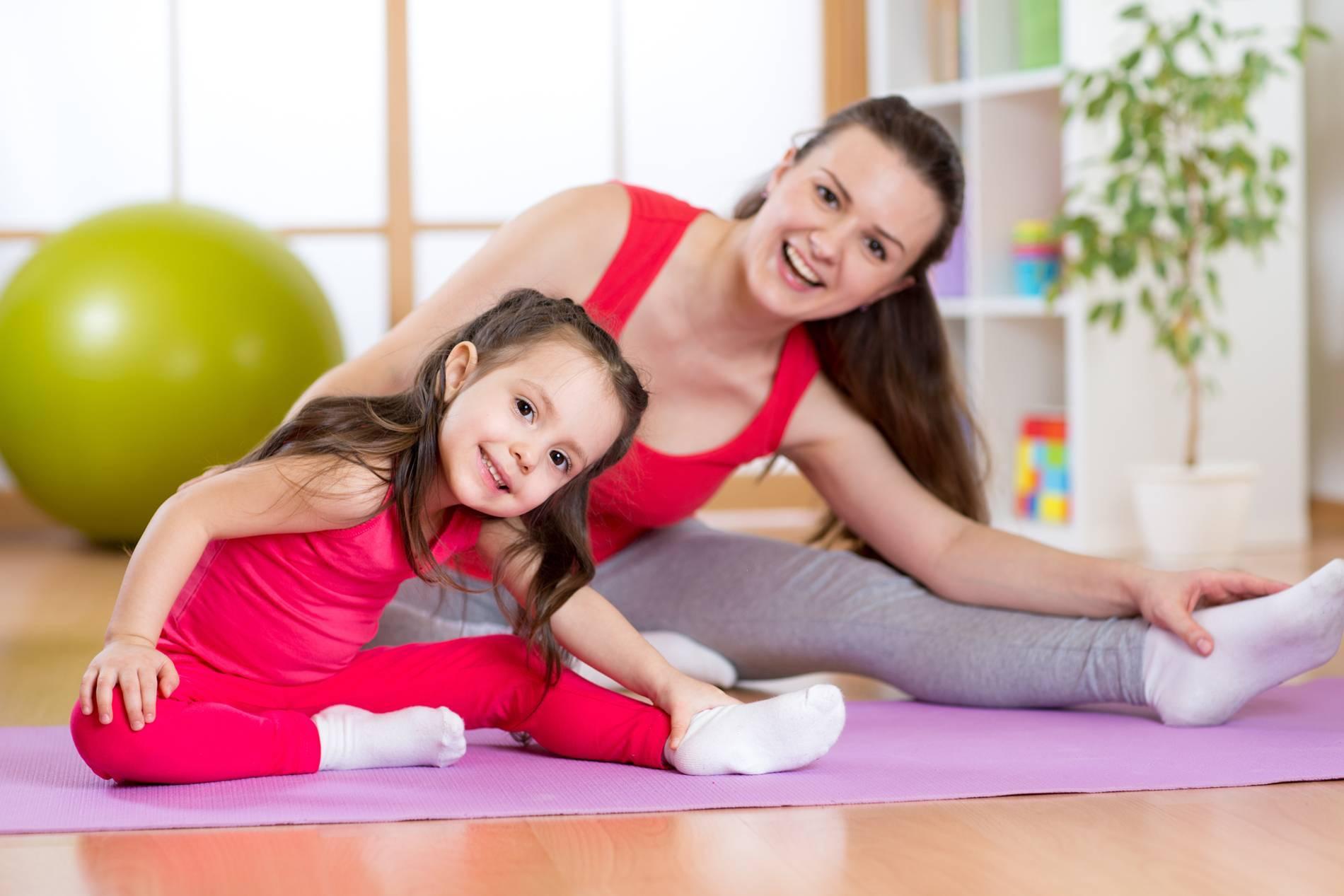 Занятия фитнесом для молодой мамы с грудным ребёнком: условия, упражнения, польза