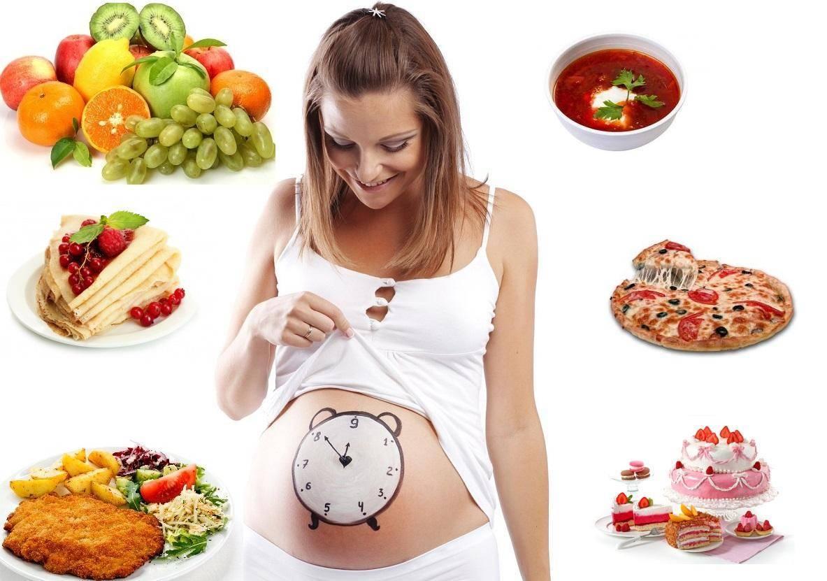 Сбалансированный рацион питания беременной женщины