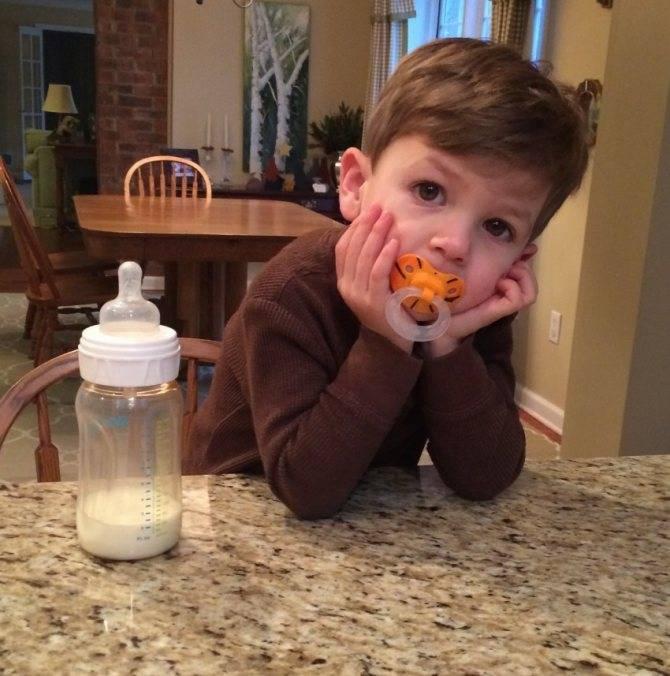 Время перемен: когда и как от отучить ребенка бутылочки?