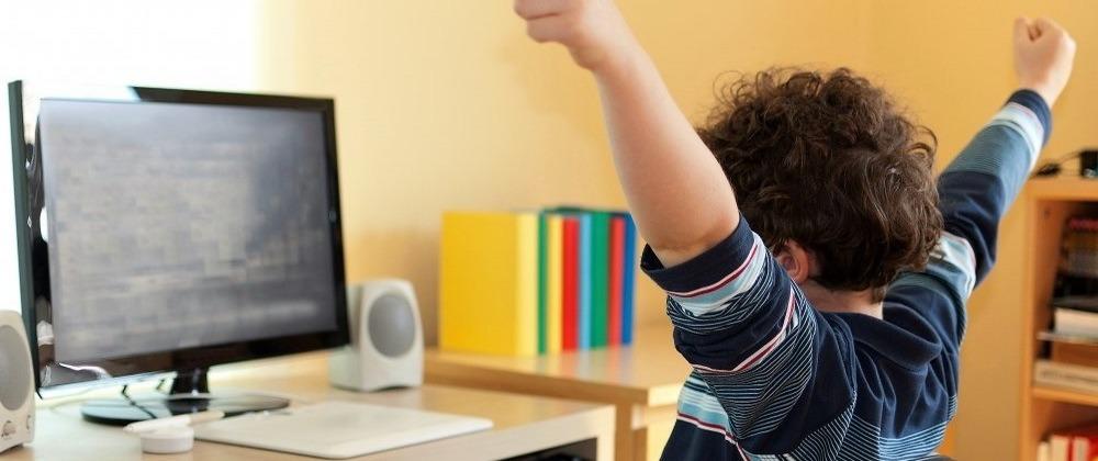 Вред компьютера для детей