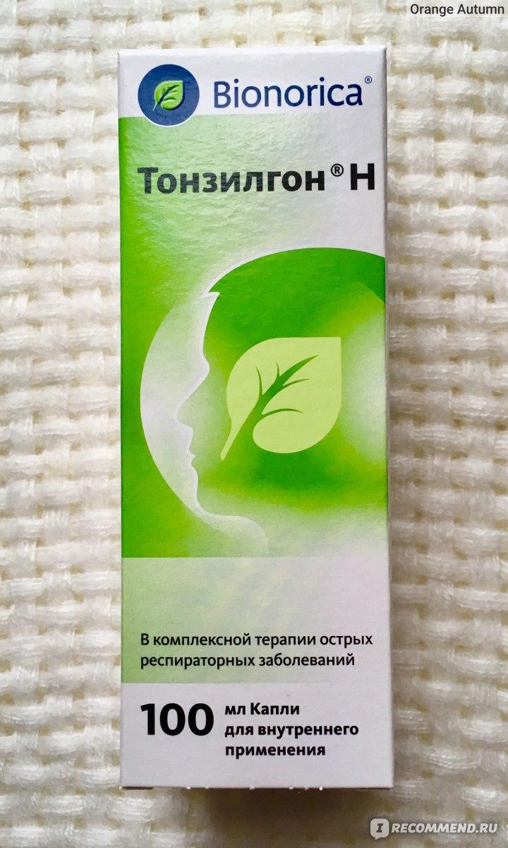 Тонзилгон – инструкция по применению для детей: капли и таблетки