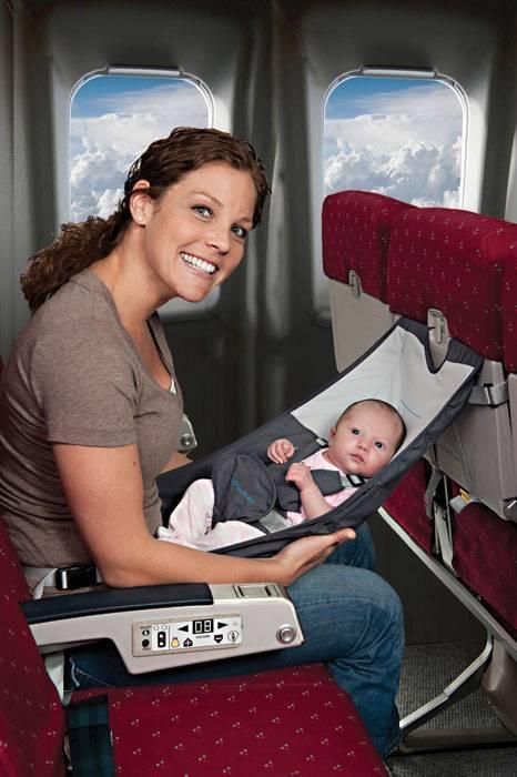 Перелет с грудничком на самолете   уроки для мам