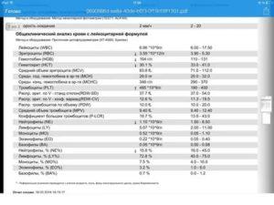 P-lcr (содержание крупных тромбоцитов в крови): что это, норма, когда повышается или понижается