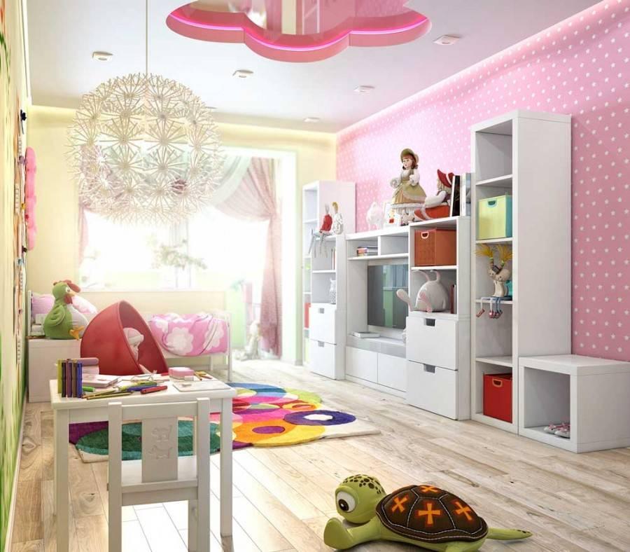 Каким может быть дизайн однокомнатной квартиры, в которой живет ребенок?