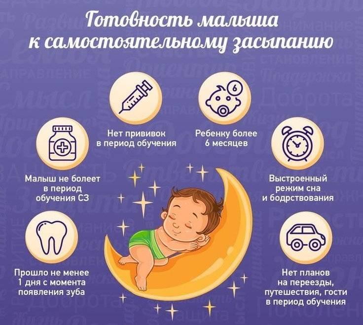 Что делать, если ребенок не спит ночью? топ рекомендаций консультанта