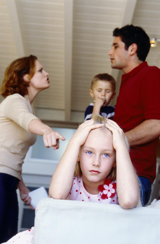 Влияние развода родителей на психику и поведение детей