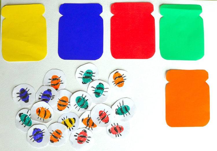Как обучить малыша различать цвета