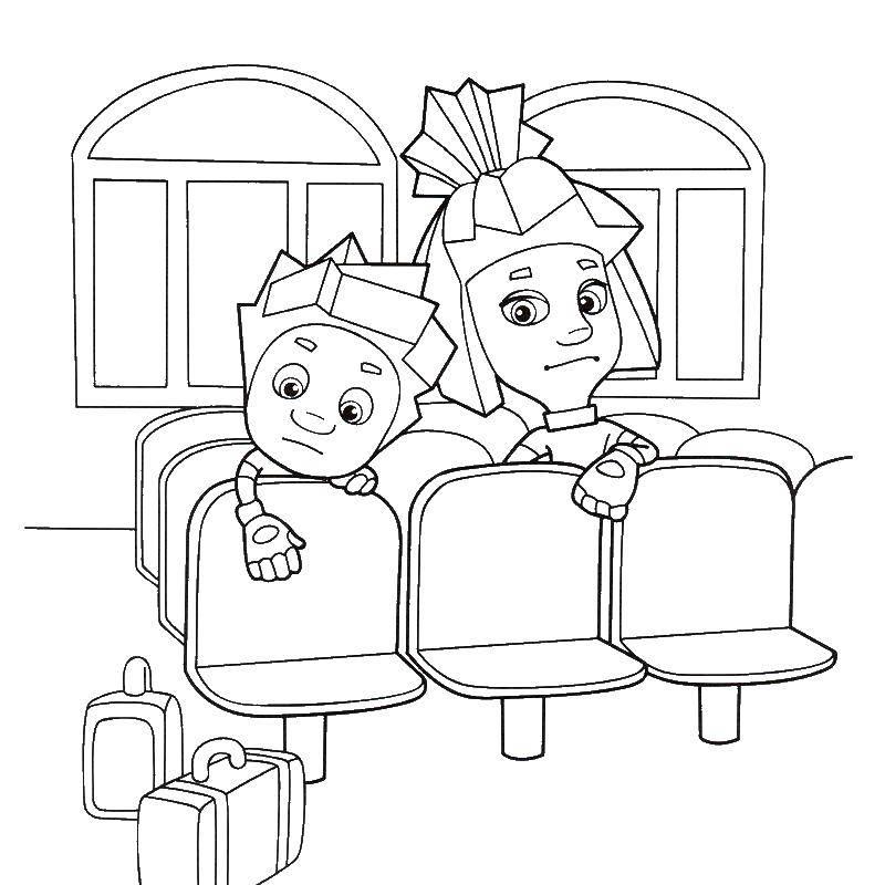 Раскраски фиксики | бесплатно распечатать, скачать картинки для детей