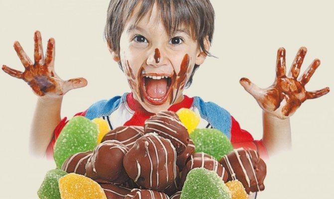 Можно ли детям сладкое и как правильно начинать давать шоколад?