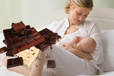 Можно ли кормящей маме есть белый, молочный или горький шоколад: польза и вред продукта при грудном вскармливании