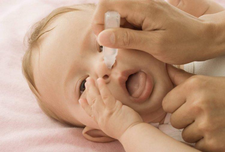 Какими должны быть капли от насморка для новорожденного?