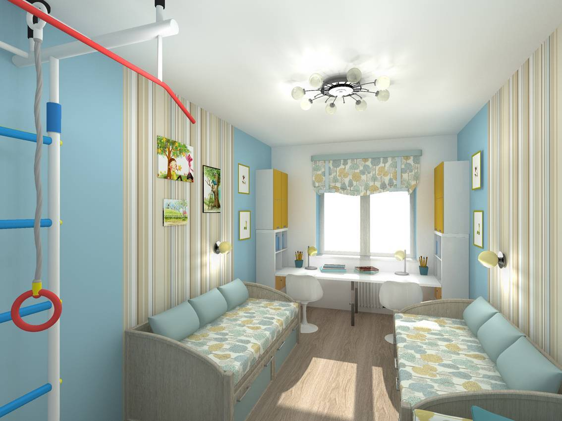 Детская комната для двух мальчиков разного возраста: фото интерьеров, идеи, советы дизайнеров
