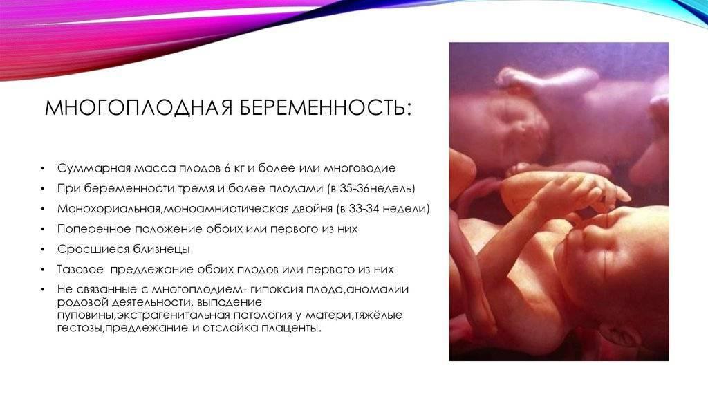 Редукция эмбрионов при двойне, многоплодной беременности