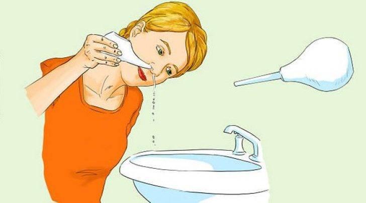 Чем и как промыть нос при заложенности в домашних условиях