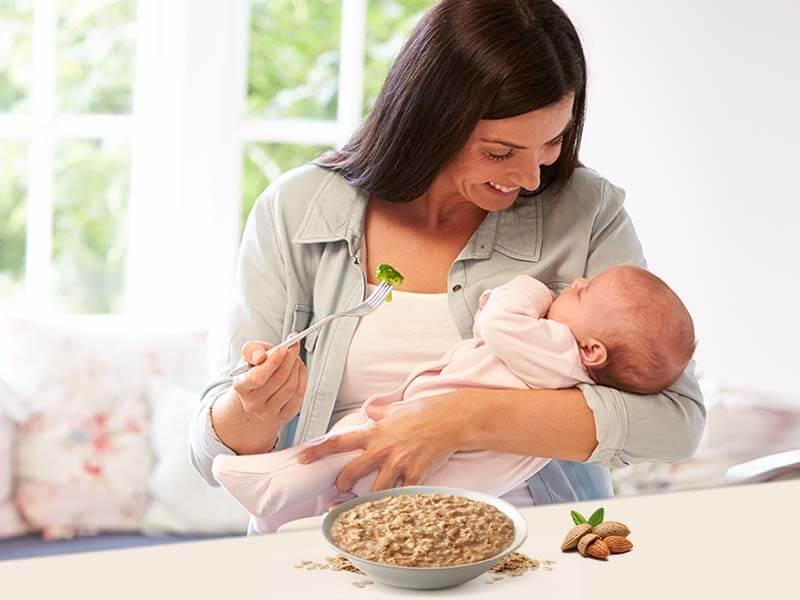 Меню кормящей мамы при грудном вскармливании ребенка в первые месяцы