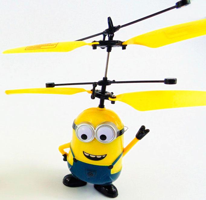 Летающий миньон – жёлтое чудо для детей и взрослых