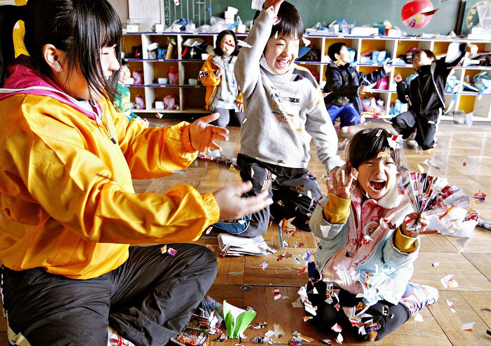 3 правила воспитания детей в японии
