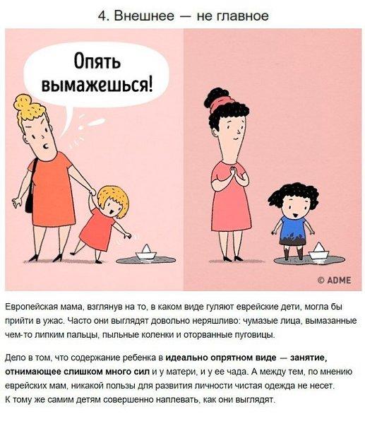6 мудрых правил воспитания ребенка от еврейских мам