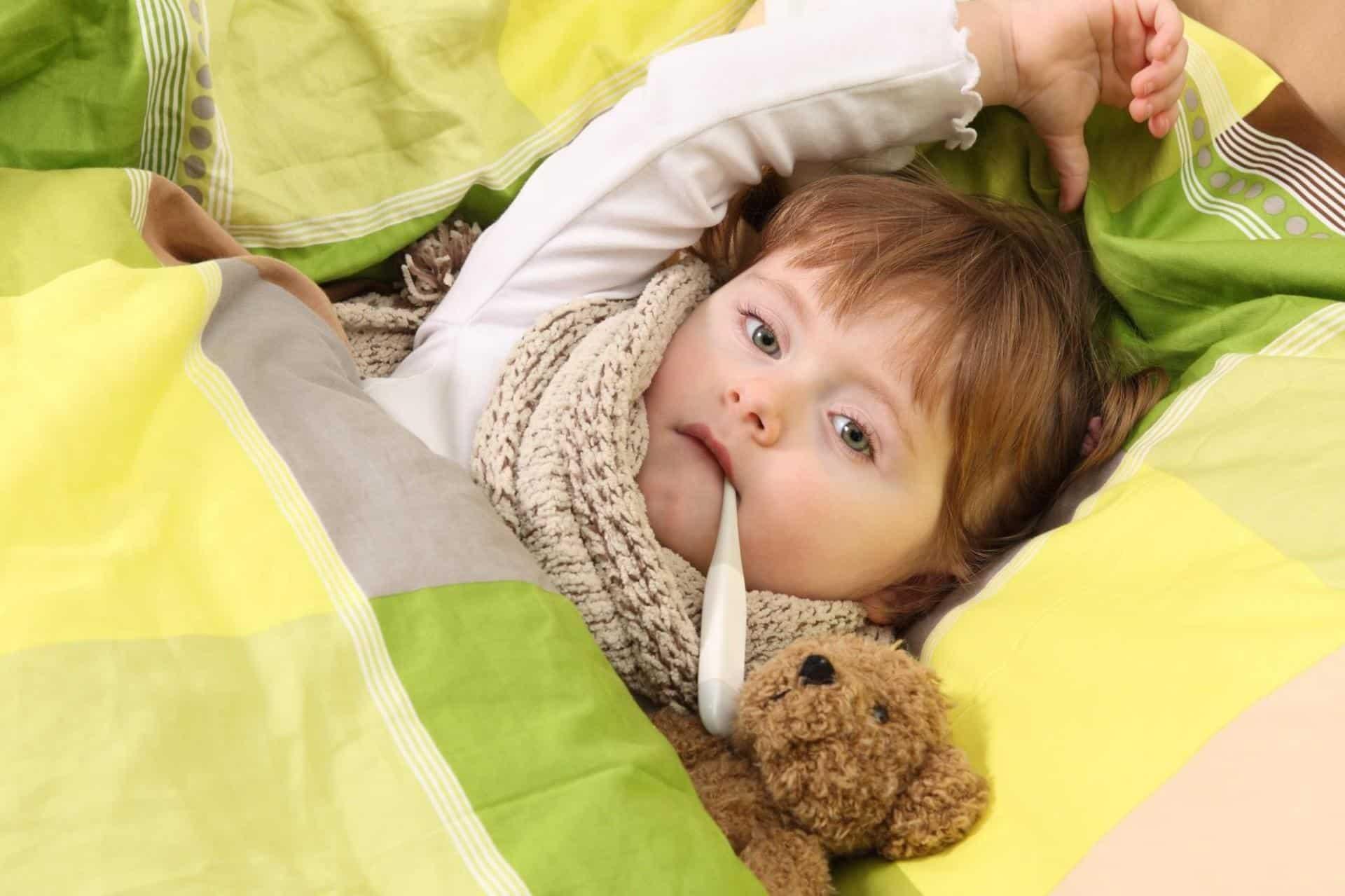 Лечение сухого кашля у детей