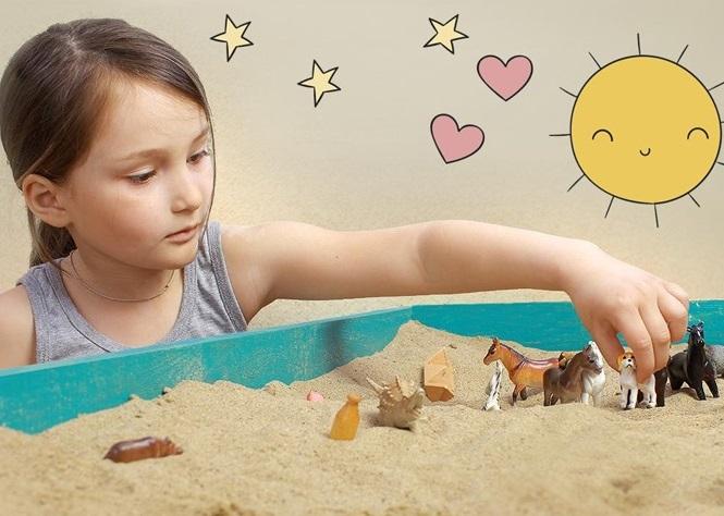 Песочная терапия в средней группе