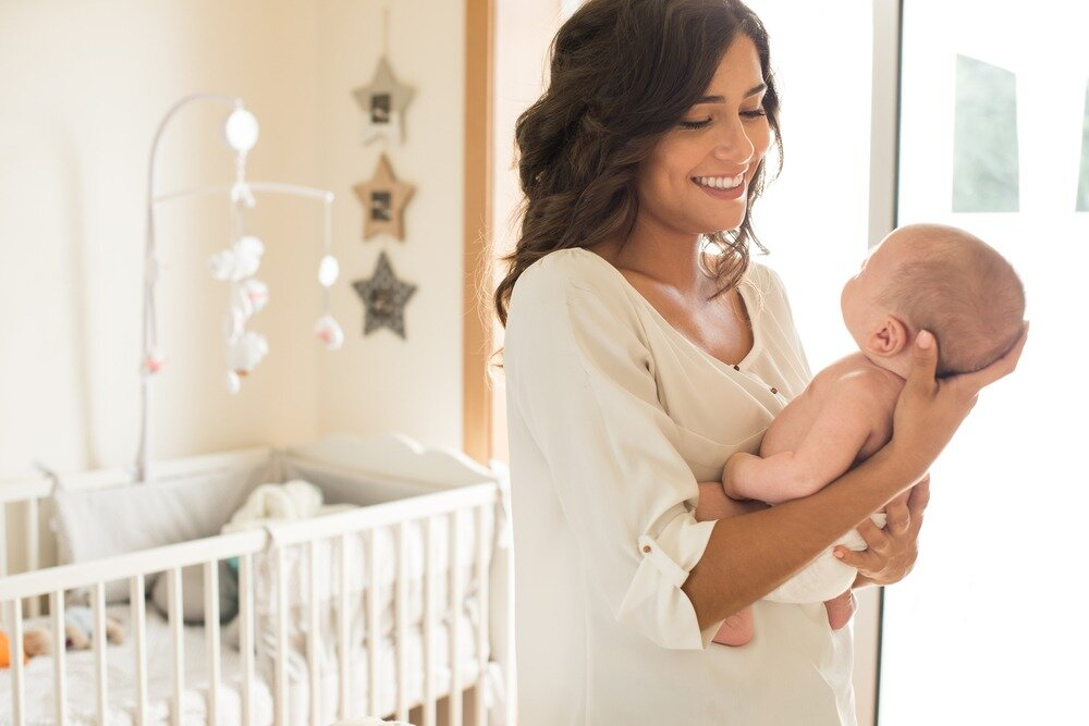Как развлечь грудного малыша