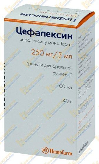 Цефалексин: инструкция по применению, отзывы, аналоги