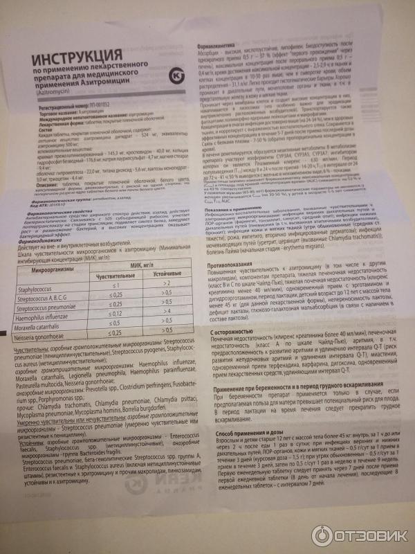 Препарат «азитромицин» для ребенка: инструкция по применению, аналоги, отзывы