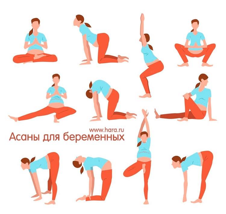Йога для беременных - комплекс упражнений по триместрам