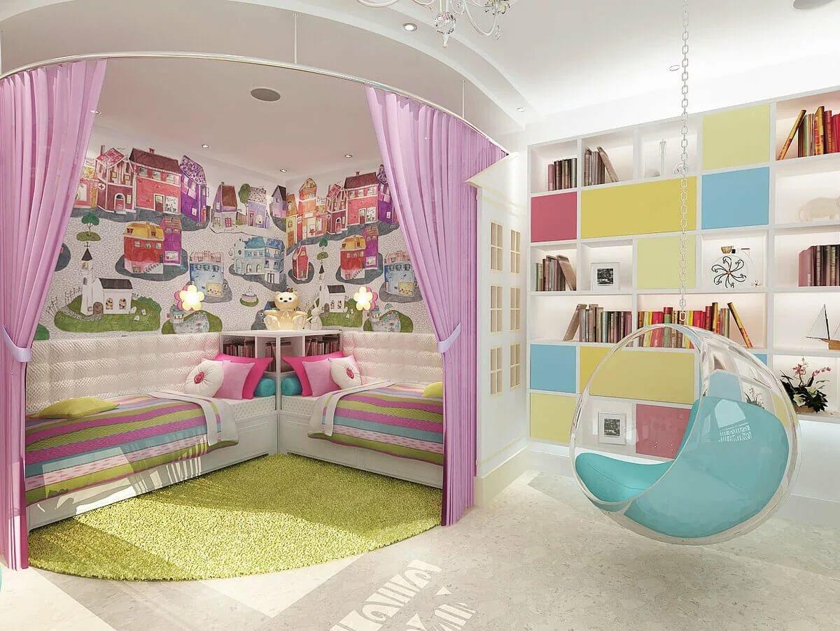 Дизайн интерьера комнаты для девочки 10-12 лет в современном стиле: фото и варианты планировки