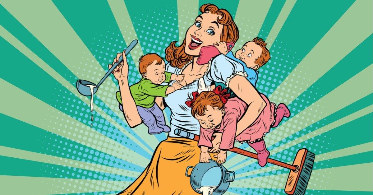15 суперспособностей мам после родов