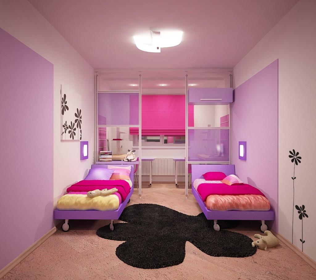 Комната для двух девочек – 30 фото и 7 дизайн-подсказок