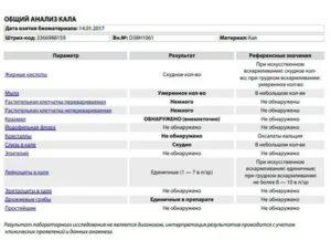 Копрограмма ребенка: норма, расшифровка анализа кала