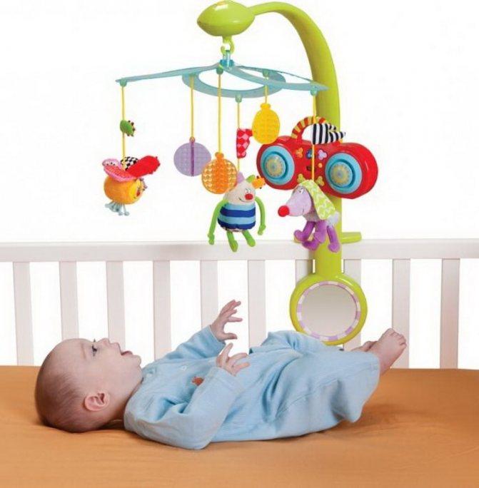 Мобиль на кроватку новорожденного
