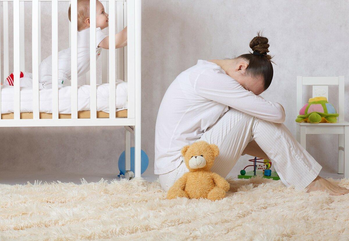 Депрессия в декрете что делать - советы психолога