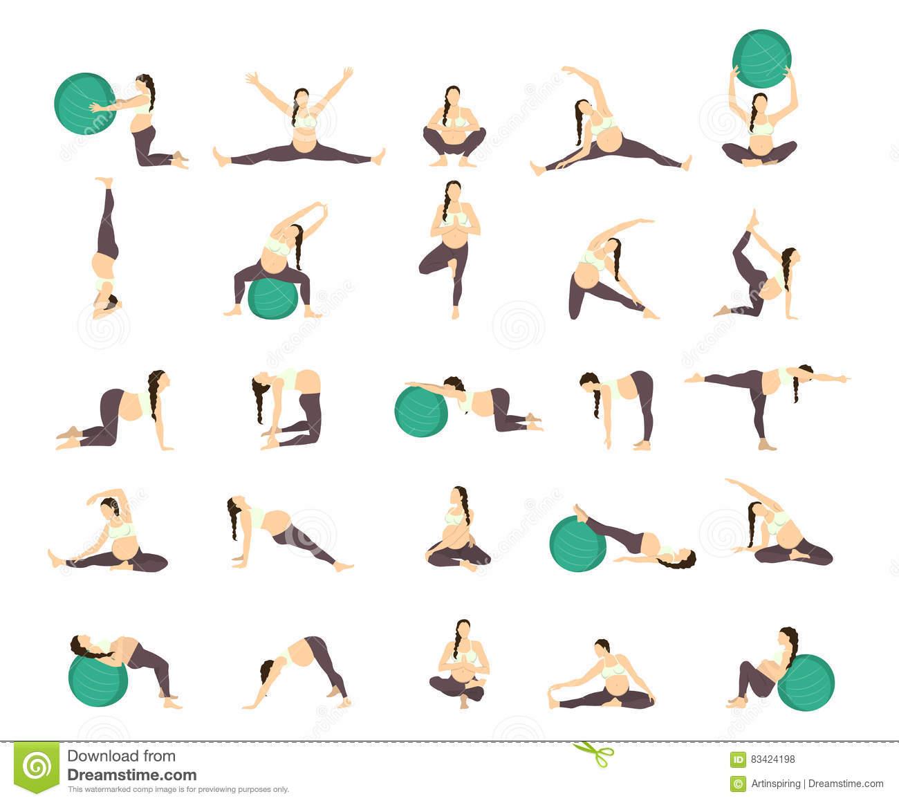 Гимнастика для беременных во 2 триместре в домашних условиях и спортзале: польза зарядки, картинки с упражнениями, рекомендации, отзывы