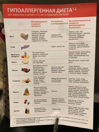 Гипоаллергенная безмолочная диета: примерное меню для ребенка и рецепты
