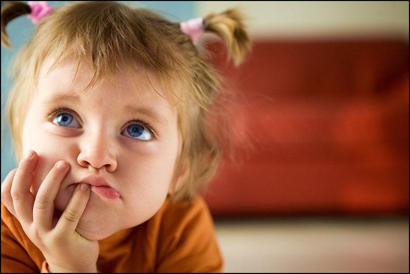 Почему ребенок кривляется? - беременность