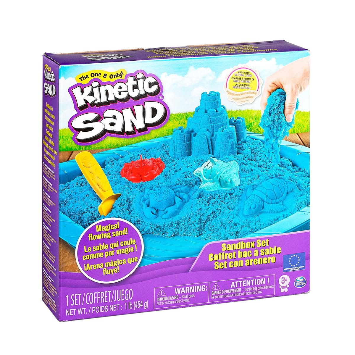 Кинетический песок – популярная новинка для игры и творчества