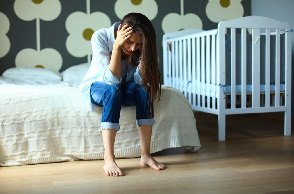 Усталость после родов (если сил нет быть мамой).