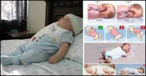 Можно ли грудничку спать на животе и ещё 5 поз для сна вашего малыша