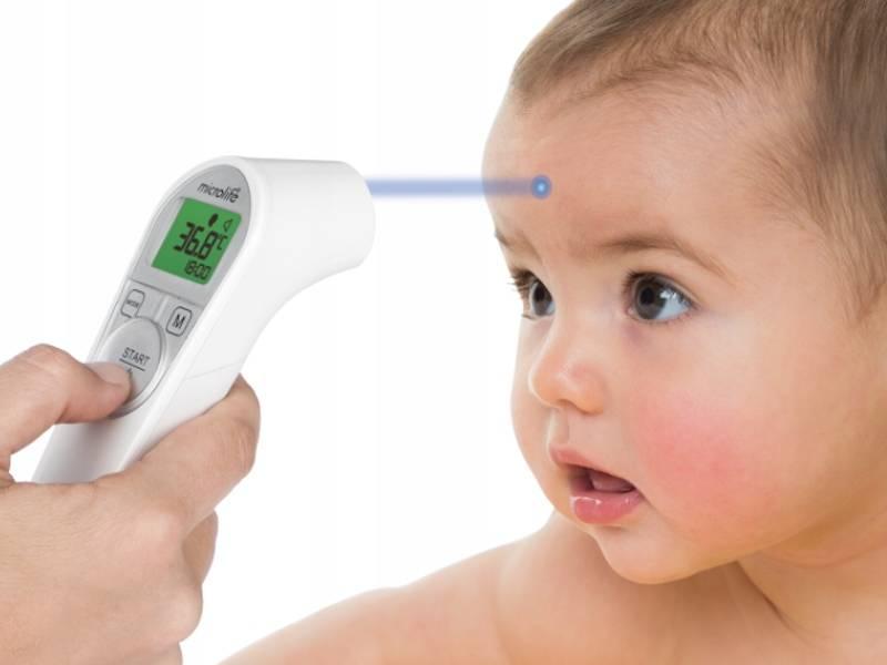 Как правильно мерить температуру грудничку: инфракрасный градусник, соска или электронный термометр