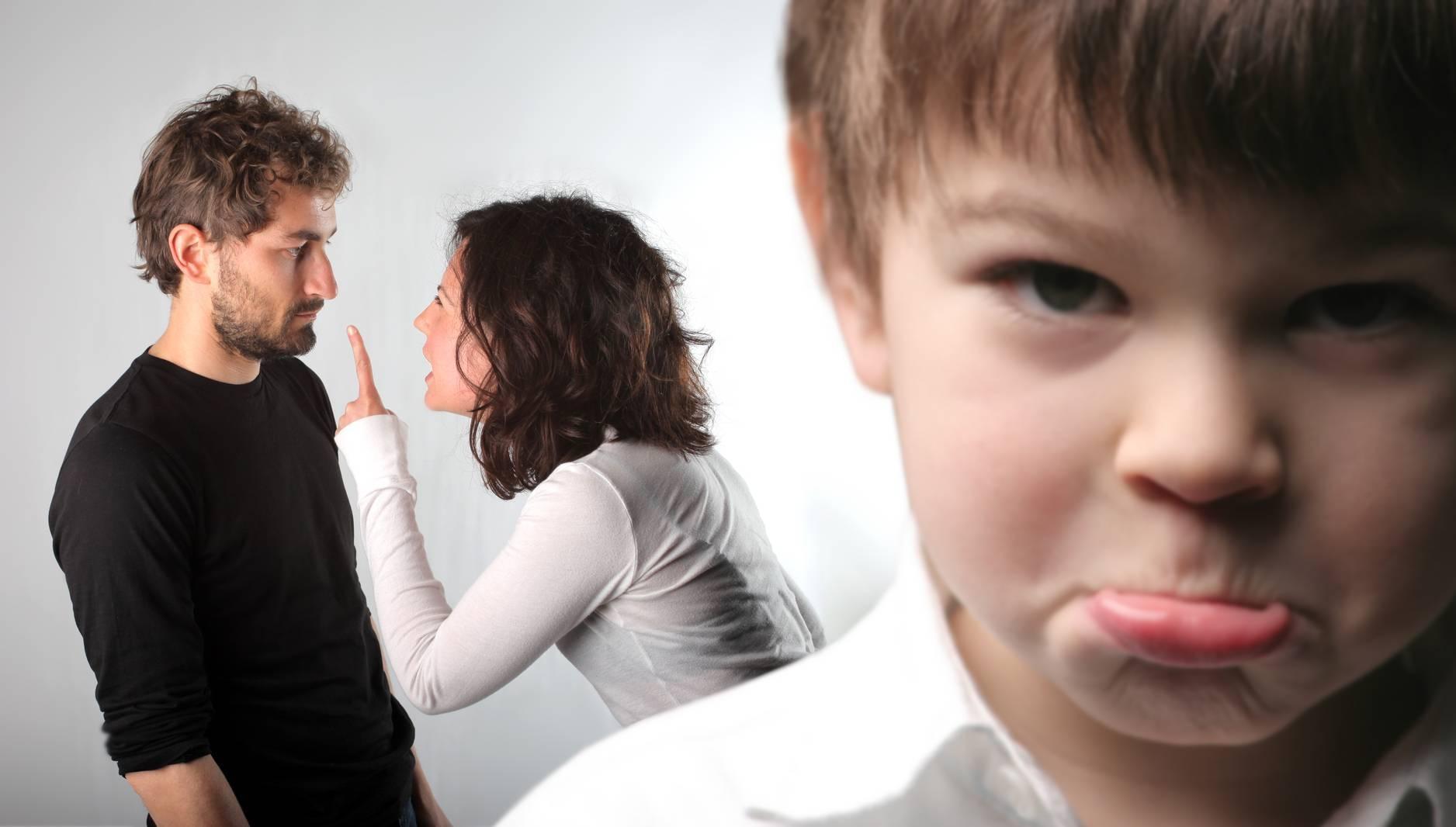 Причины ссор родителей с детьми