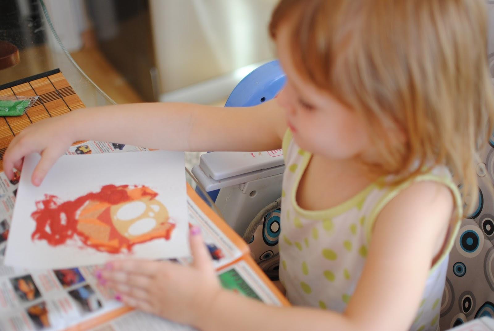 Инновационная деятельность в комплексном развитии детей «рисуем цветным песком»   контент-платформа pandia.ru