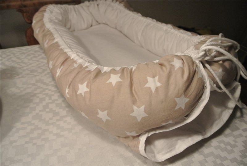 Гнездышко для новорожденных: как сшить по выкройке своими руками