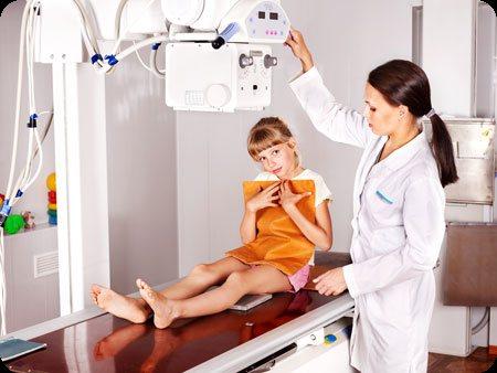За и против проведения рентгена легких ребенку
