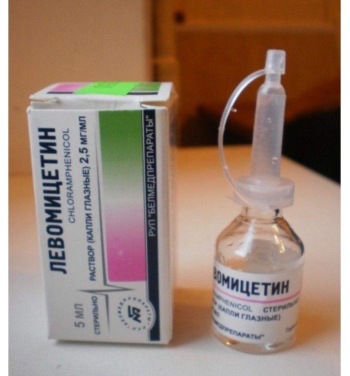 Левомицетин в нос: можно ли капать глазные капли в носовые ходы