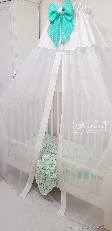 Балдахин на детскую кроватку своими руками: мастер-класс